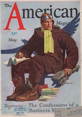 ORIG VINTAGE MAGAZINE COVER/ AMERICAN MAGAZINE - MAY 1930Sheridan (Illust.), John, Illust. by: John  Sheridan - Product Image