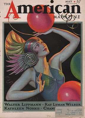 ORIG VINTAGE MAGAZINE COVER/ AMERICAN MAGAZINE - MAY 1933Benda (Illust.), W.T., Illust. by: W.T.  Benda - Product Image