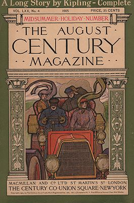 ORIG VINTAGE MAGAZINE COVER/ CENTURY MAGAZINE - AUGUST 1905N/A - Product Image