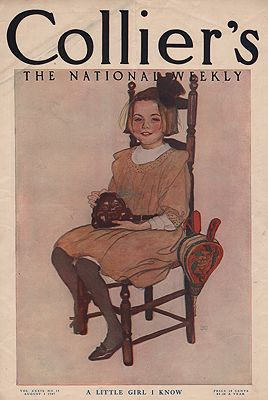 ORIG VINTAGE MAGAZINE COVER/ COLLIER'S - AUGUST 3 1907FW (Illust.) - Product Image