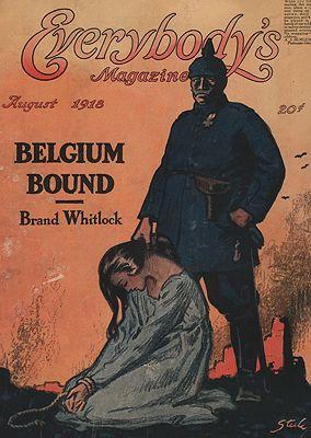 ORIG VINTAGE MAGAZINE COVER/ EVERYBODY'S MAGAZINE - AUGUST 1918Steele (Illust.), Frederick Dorr, Illust. by: Frederick Dorr  Steele - Product Image