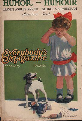 ORIG VINTAGE MAGAZINE COVER/ EVERYBODY'S MAGAZINE  FEBRUARY 1900sN/A - Product Image