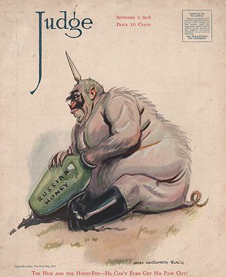 ORIG VINTAGE MAGAZINE COVER/ JUDGE - SEPTEMBER 7 1918Flagg (Illust.), James Montgomery, Illust. by: James Montgomery  Flagg - Product Image