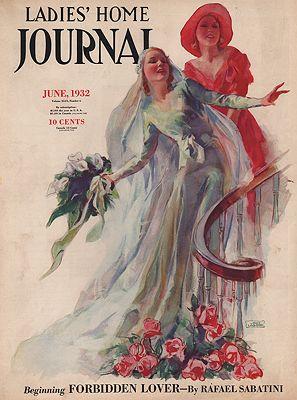 ORIG VINTAGE MAGAZINE COVER/ LADIES HOME JOURNAL - JUNE 1932LaGatta (Illust.), John, Illust. by: John  LaGatta - Product Image
