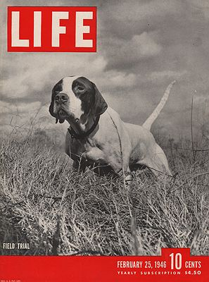 ORIG VINTAGE MAGAZINE COVER/ LIFE - FEBRUARY 25 1946N/A - Product Image