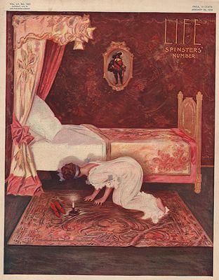 ORIG VINTAGE MAGAZINE COVER/ LIFE - JANUARY 20 1910Hutt (Illust.), Henry, Illust. by: Henry  Hutt - Product Image