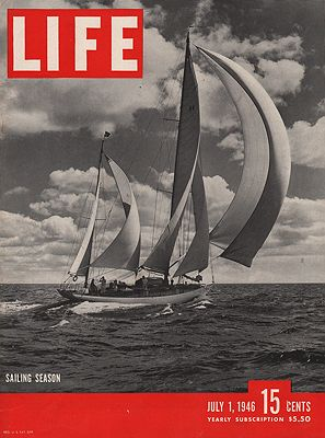 ORIG VINTAGE MAGAZINE COVER / LIFE - JULY 1 1946N/A - Product Image