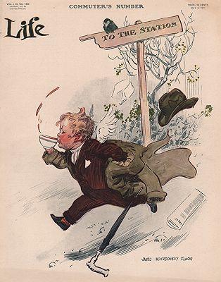 ORIG VINTAGE MAGAZINE COVER/ LIFE - MAY 4 1911Flagg (Illust.), James Montgomery, Illust. by: James Montgomery  Flagg - Product Image