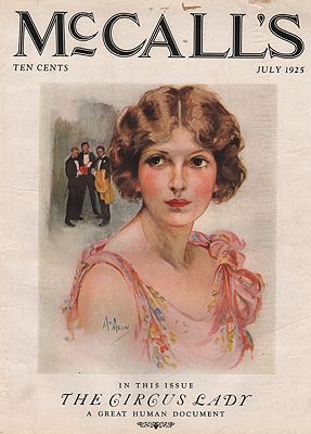 ORIG VINTAGE MAGAZINE COVER/ MCCALL'S - JULY 1925McMein (Illust.), Neysa, Illust. by: Neysa  McMein - Product Image