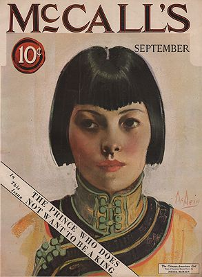 ORIG VINTAGE MAGAZINE COVER/ MCCALL'S - SEPTEMBER 1924McMein (Illust.), Neysa, Illust. by: Neysa  McMein - Product Image