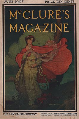 ORIG VINTAGE MAGAZINE COVER/ MCCLURE'S MAGAZINE JUNE 1907Campbell (Illust.), Blendon, Illust. by: Blendon  Campbell - Product Image