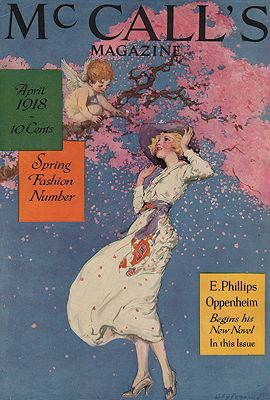 ORIG VINTAGE MAGAZINE COVER/ McCALL'S - APRIL 1918Pogany (Illust.), Willy, Illust. by: Willy  Pogany - Product Image