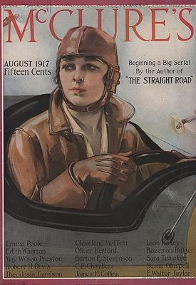 ORIG VINTAGE MAGAZINE COVER/ McCLURE'S - AUGUST 1917McMein (Illust.), Neysa, Illust. by: Neysa  McMein - Product Image