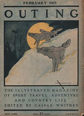 "<p class=""ttl"">ORIG VINTAGE MAGAZINE COVER/ OUTING - FEBRUARY 1903<p><br />Bull (Illust.), Charles Livingston, Illust. by: Charles Livingston  Bull</span>"