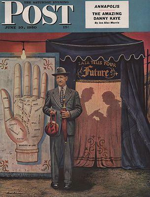 ORIG VINTAGE MAGAZINE COVER/ SATURDAY EVENING POST - JUNE 10 1950Dohanos (Illust.), Stevan, Illust. by: Stevan  Dohanos - Product Image