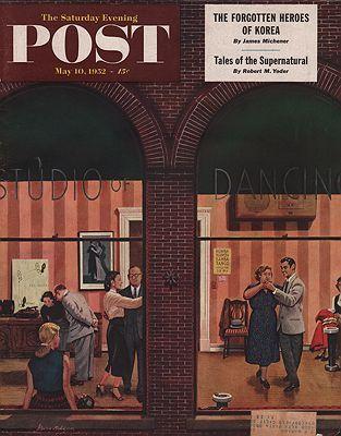 ORIG VINTAGE MAGAZINE COVER/ SATURDAY EVENING POST - MAY 10 1952Dohanos (Illust.), Stevan, Illust. by: Stevan  Dohanos - Product Image