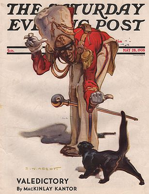 ORIG VINTAGE MAGAZINE COVER/ SATURDAY EVENING POST - MAY 28 1938Abbott (Illust.), S. N., Illust. by: S.N.  Abbott - Product Image
