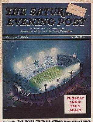 ORIG VINTAGE MAGAZINE COVER/ SATURDAY EVENING POST - OCTOBER 1 1938Neff (Illust.), Wesley, Illust. by: Wesley  Neff - Product Image