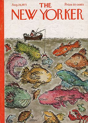 ORIG VINTAGE MAGAZINE COVER/  THE NEW YORKER - AUGUST 28 1971Koren (Illust.), Ed, Illust. by: Ed  Koren - Product Image