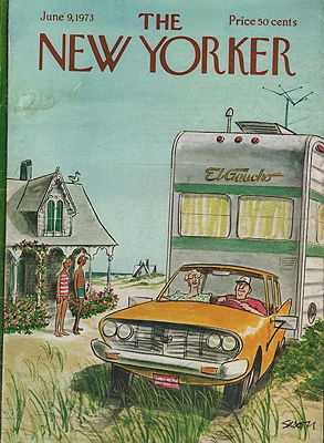 ORIG VINTAGE MAGAZINE COVER - THE NEW YORKER - JUNE 9 1973Saxon (Illust.), Charles, Illust. by: Charles  Saxon - Product Image