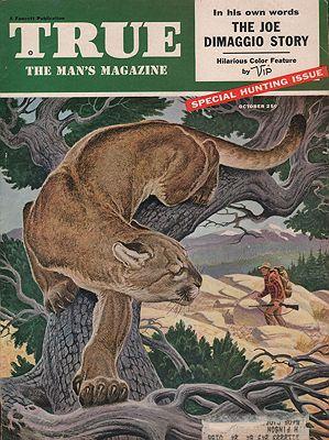 ORIG VINTAGE MAGAZINE COVER/ TRUE - OCTOBER 1955illustrator- N/A - Product Image