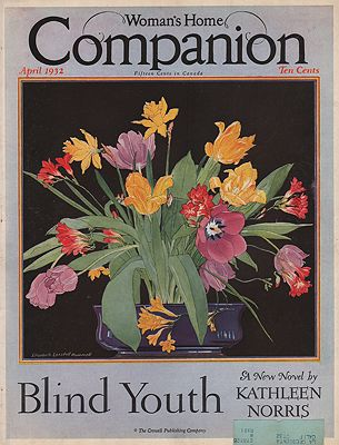 ORIG VINTAGE MAGAZINE COVER/ WOMAN'S HOME COMPANION - APRIL 1932Hammell (Illust.), Elizabeth Lansdell, Illust. by: Elizabeth Lansdell  Hammell - Product Image