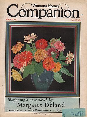 ORIG VINTAGE MAGAZINE COVER/ WOMAN'S HOME COMPANION - AUGUST 1931Hammell (Illust.), Elizabeth Lansdell, Illust. by: Elizabeth Lansdell  Hammell - Product Image