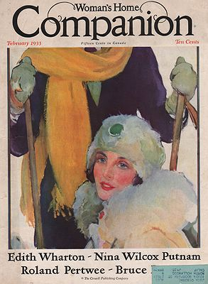 ORIG VINTAGE MAGAZINE COVER/ WOMANS HOME COMPANION - FEBRUARY 1933Spreter (Illust.), Roy, Illust. by: Roy  Spreter - Product Image