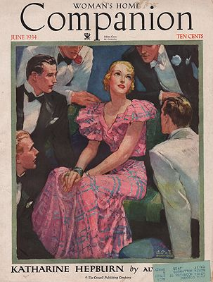 ORIG VINTAGE MAGAZINE COVER/ WOMAN'S HOME COMPANION - JUNE 1934Barnum (Illust.), Jay Hyde, Illust. by: Jay Hyde  Barnum - Product Image