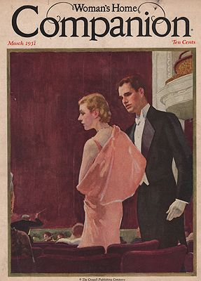 ORIG VINTAGE MAGAZINE COVER/ WOMAN'S HOME COMPANION - MARCH 1931Spreter (Illust.), Roy, Illust. by: Roy  Spreter - Product Image