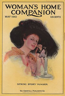 ORIG VINTAGE MAGAZINE COVER/ WOMAN'S HOME COMPANION - MAY 1910Kinneys, The  (Illust.) - Product Image
