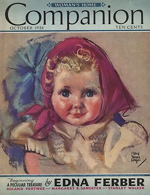 ORIG VINTAGE MAGAZINE COVER/ WOMAN'S HOME COMPANION - OCTOBER 1938Fangel (Illust.), Maud Tousey, Illust. by: Maud Tousey  Fangel - Product Image