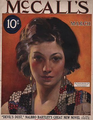 ORIG VINTAGE MAGAZINE COVER/McCALL'S - MARCH 1924McMein (Illust.), Neysa, Illust. by: Neysa  McMein - Product Image