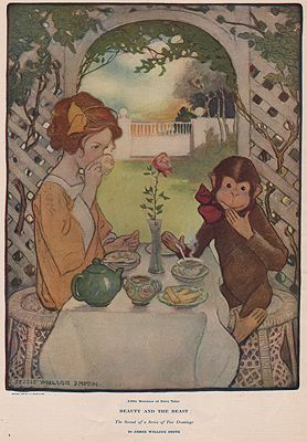 ORIG VINTAGE MAGAZINE ILLUSTRATION/ COLLIER'S MAY 30 1908Smith (Illust.), Jessie Wilcox, Illust. by: Jessie Wilcox  Smith - Product Image
