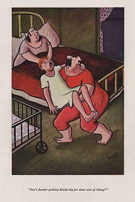 ORIG VINTAGE MAGAZINE ILLUSTRATION - ESQUIRE AUGUST 1937 Hoff (Illust.), Syd, Illust. by: Syd  Hoff - Product Image