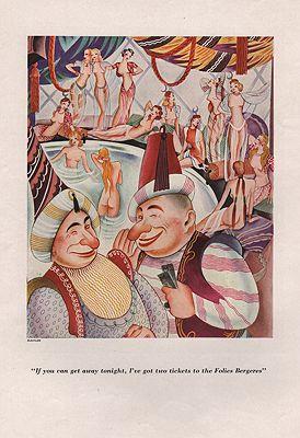 ORIG VINTAGE MAGAZINE ILLUSTRATION/ ESQUIRE AUTUMN 1933Alajalov (Illust.), Constantin, Illust. by: Constantin  Alajalov - Product Image