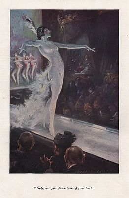 ORIG VINTAGE MAGAZINE ILLUSTRATION / ESQUIRE JUNE 1934Shinn (Illust.), Everett, Illust. by: Everett  Shinn - Product Image
