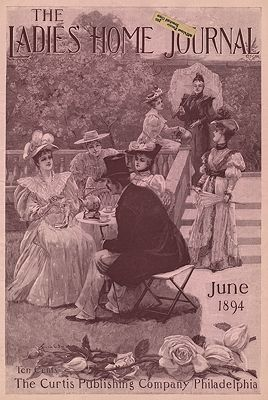 ORIG. VINTAGE MAGAZINE COVER/ LADIES HOME JOURNAL - JUNE 1894Small (Illust.), Frank O., Illust. by: Frank O.  Small - Product Image
