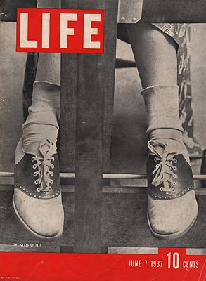 ORIG. VINTAGE MAGAZINE COVER/ LIFE - JUNE 7 1937N/A - Product Image