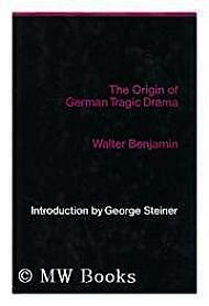 Origin of German Tragic DramaBenjamin, Walter - Product Image