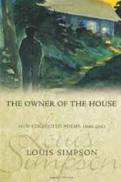 Owner of the House, The: New Collected Poems, 1940-2001Simpson, Louis - Product Image