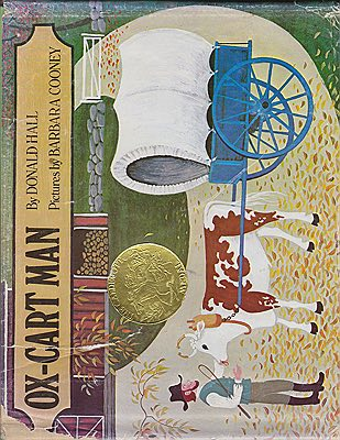 Ox-Cart Man (SIGNED COPY)Hall, Donald and Barbara Cooney, Illust. by: Barbara  Cooney - Product Image