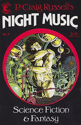 P. Craig Russell's Night Music No.1-3 (3 Issues)Russell, P. Craig, Illust. by: P. Craig  Russell - Product Image