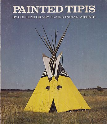 Painted Tipis By Contemporary Plains Indian ArtistsN/A - Product Image