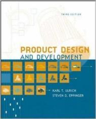Product Design and Development - Third EditionUlrich, Karl T./Steven D. Eppinger - Product Image