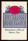Reckless DisregardAdler, Renata - Product Image