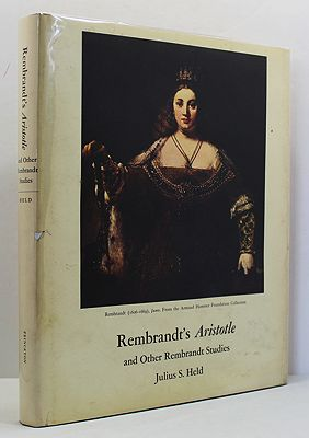 Rembrandt's Aristotle and Other Rebrandt StudiesHeld, Julius S. - Product Image