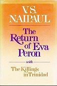 Return of Eva PeronNaipaul, V. S. - Product Image