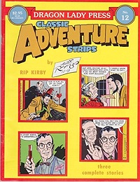 Rip Kirby in Africa 2/20/56 - 10/20/56 - Dragon Lady Classic Adventure Strips No. 12Raymond, Alex, Illust. by: Alex  Raymond - Product Image