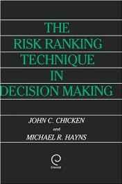 Risk Ranking Technique in Decision Making, TheChicken, John C. - Product Image